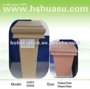 Composto plástico de madeira ao ar livre de wpc post