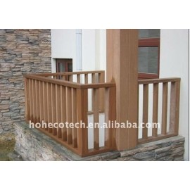 HOUSE decoration balcony wpc railing/post wpc fencing