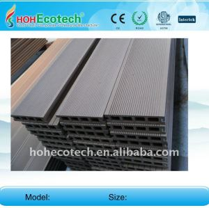 Different colors to choose wpc decking plastic composite flooring