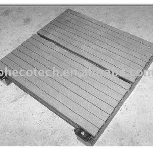 Panneau de plancher assemblé de wpc