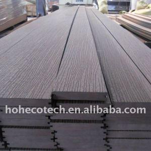 Decking en bois/en bambou composé de DIY embarque le decking synthétique composé en plastique en bois/plancher de WPC