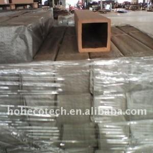 Wpc différent de modèles de POTEAU de wpc de balustrade de WPC clôturant facilement l'installation et le bas entretien