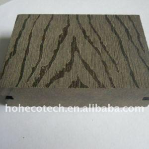 Protégez le Decking imperméable à l'eau de WPC/le plancher en plastique wpc de plancher (CE, ROHS, ASTM, ISO9001, ISO14001, Intertek)