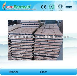 Huasu anti-UV water-proof wpc diy tiles (CE ROHS)