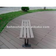 Wpcの物質的な屋外の木のベンチ