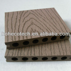 (CE,ISO,Intertek,ROHS,SGS approved)Decorative artificial wood floor/Hollow type wpc decking flooring