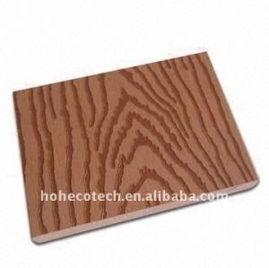 nouveau Decking composé matériel de /flooring de Decking de wpc (composé en plastique en bois) (CE, ROHS, ASTM, ISO9001, ISO14001, Intertek)