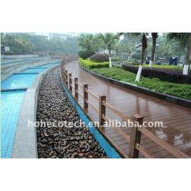 WPC manufacturer plastic wood floor WPC decking tiles wood plastic composite flooring