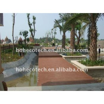 WPC composite ecotech outdoor Decking, CE, ASTM, ROHS, ISO certificate