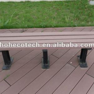 Réutilisation du banc en bois de wpc composé en plastique en bois/de chaise de loisirs/du banc extérieurs de jardin