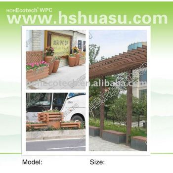 ecotech wpc flower pot, CE,ASTM,ROHS,ISO9001,ISO14001cetified