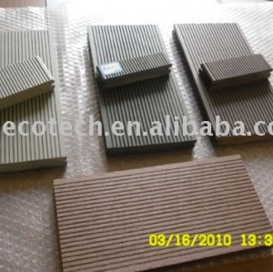 Wpc esterno decking tavole ( iso9001, iso14001, rohs, ce )