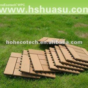 эко - дружественных настил пола плитка/деревянный пластичный составной сауна совет/экологически - пластиковые древесины diy настил плитки древесины