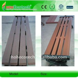 Garantia de qualidade! Natural de madeira olhar e sentir melhor capacidade de madeira/composto de bambu banco banco wpc