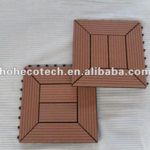 7 cores a escolher interno/revestimento externo 300x300mm wpc telha do banheiro de madeira composto plástico da telha