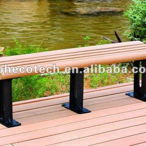 madera de plástico compuesto de arena silladeplaya