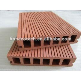 Composite Wpc flooring decking floor- hollow decking