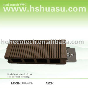 100% recycle environmental outdoor decking 140H30