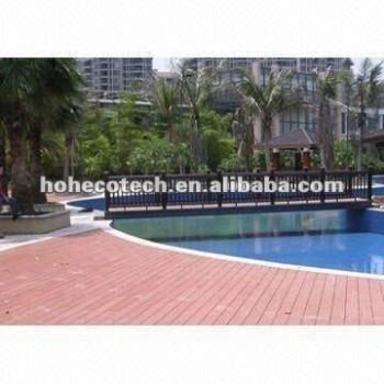 Outdoor waterproof swimming pool decking of building material--wpc