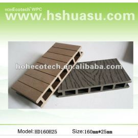 Recyclable wood and Plastic Composite Flooring/decking(waterproof/Wormproof/Anti-UV/Resistant to rot and mold )