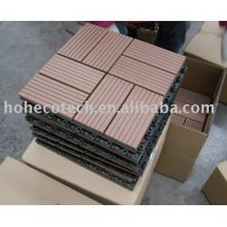 木製の合成のデッキのタイル