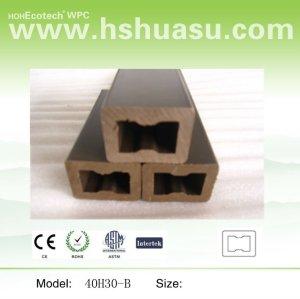 produits de composite bois plastique