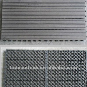 Anti - uv diy madeira plastic composite telhas deck