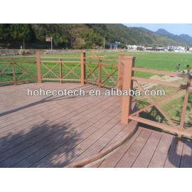 OEM wood plastic composite flooring
