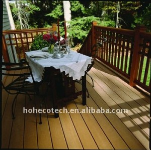 Outdoor wood furnitureWater-Resistant WPC Decking Board Engineered flooring outdoor WPC wood plastic composite decking/flooring