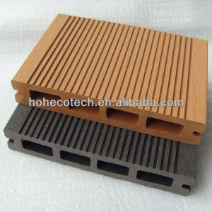 Anhui Ecotech wpc wood plastic composite hollow outdoor decking 150*25mm CE Rohus ASTM FSC approved
