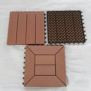Nuove mattonelle esterne di decking di disegno WPC
