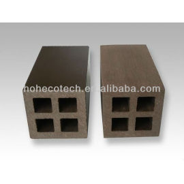 wpc post/ bars for fencing, gazebo, pergola ,water proof wpc wood plastic composite ASTM REACH FSC CE APPROVED