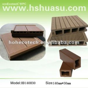 Interlocking Wood Plastic Composite wpc flooring deck
