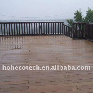 Decking du plancher WPC de PVC de plancher de vinyle de PLANCHER/plancher composés en plastique en bois en stratifié