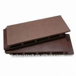Legno decking bordo di legno composito di plastica pavimentazione/decking bordo decking esterno