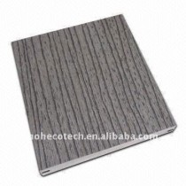 embossing surface GREY stable SOLID design wpc decking/flooring wood flooring board Outdoor Decking