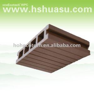 Planches de plancher decking de wpc composite decking étage mobilier d'extérieur