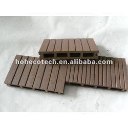 14溝147x23mm屋外のタケ/woodのDeckingの木製のプラスチック合成のdeckingかフロアーリングのwpcのデッキのタイルの材木