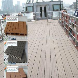 Eco - amichevole ( in legno composito di plastica ) decorativi wpc decking esterno/scale decking/decking giardino