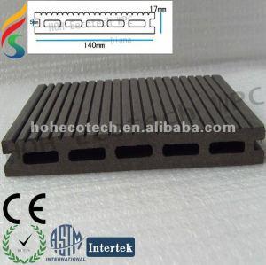 Compuesto plástico de madera wpc decking del pontón/del pontón flotante/wpc dock