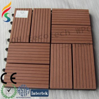 WPC sauna board---WPC decking