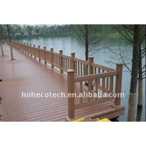 Welcome! wpc bridge handrail waterproof bridge railing wood plastic composite stair railing