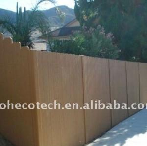 garantie de qualité ! Carrelage extérieur composé en plastique en bois de wpc de decking/plancher