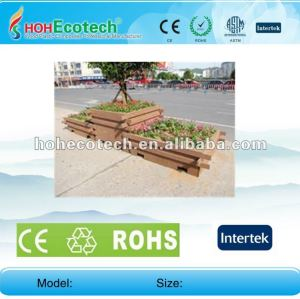 100% recycled wpc high quality garden flower pots (wpc flooring/wpc wall panel/wpc leisure products)