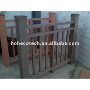 wpc decking flooring outdoor Railing