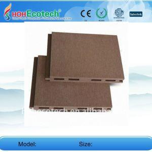 высокое качество wpc настилов/напольные доски деревянный пластичный составной настил wpc композитный wpc наружные полы