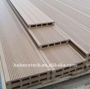 Di alta qualità di wpc decking/tavole pavimenti in legno decking composito di plastica wpc composito wpc pavimenti per esterni