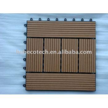 WPC interlocking deck/DIY tile/DIY decking/wpc decking