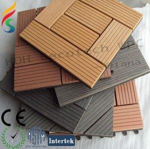 caliente venta de wpc azulejo de piso