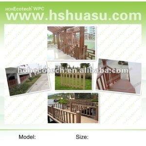 2012 wpc fire-resistant water proof popular railing (CE ROHS)